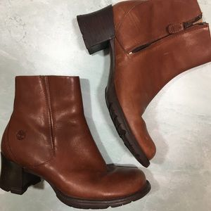Timberland Smart Comfort Leather Ankle Boots X0308